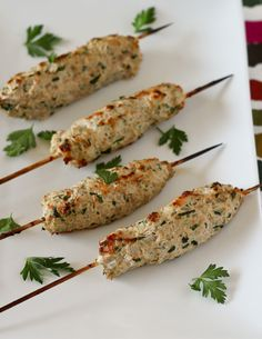 Chicken Kofta Recipe http://www.rachelcooks.com/2014/07/31/chicken-kofta-recipe/