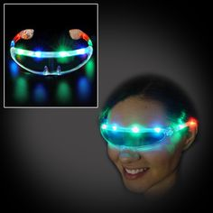 Looking for something cool and different in LED light up sunglasses? Check out our Futuristic LED Sunglasses and make sure you are seen wherever you go! Flashingo recommends use at concerts, dances, p