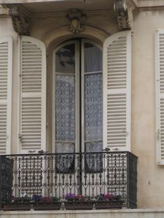 Portes de balcon de Provence