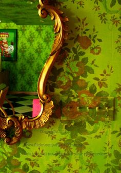 xx..tracy porter..poetic wanderlust...-betsey johnson wallpaper and mirror