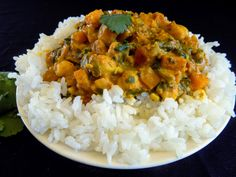 Easy, one-pot, healthy vegan curry. #FatFridaysForever