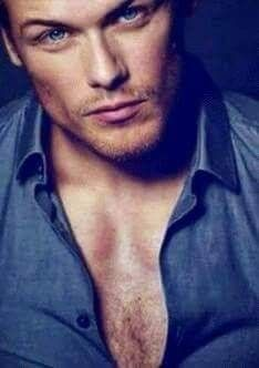Sam Heughan....hot hot