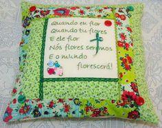 Capa almofada Poema Flores