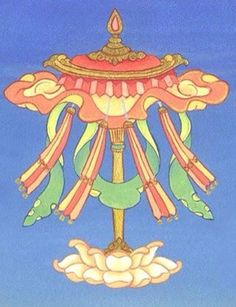 Precious Umbrella - come under the great umbrella of Buddhism