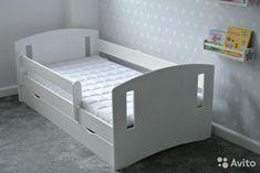 Новая детская кровать 160Х80 + матрас+ ящик— фотография №1