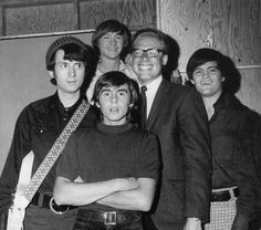 The Monkees with Ward Sylvester