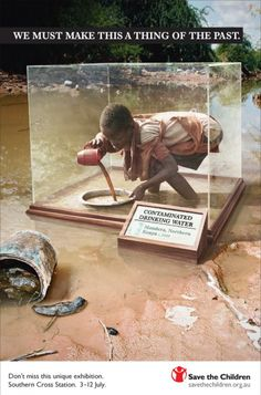 Save the Children: Contaminated drinking water