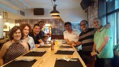 Lunch para los #Pincholaris 2014 en el Singing Munch