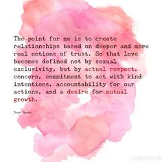a desire for mutual growth. Triad Relationship, Polyamorous Relationship, Relationship Quotes, Polyamory Quotes, Poly Triad, Non Monogamy, Intj Personality, Self Motivation, Life Partners