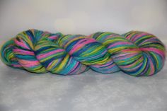 hand dyed yarn,  cashmere,470 meters/100 grams/evening Neva / by PositiveCreative on Etsy