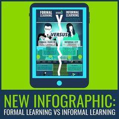 [Infographic] Formal vs Informal Learning | Edumorfosis.it | Scoop.it