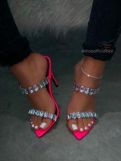 Red Girls Fancy Party Wedding Angel Heel Shoes Diamante Hearts Kitten Size 34