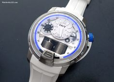 Watches by SJX: Introducing the HYT H1 Iceberg In Blue and White (...