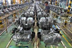 Royal Enfield engine factory