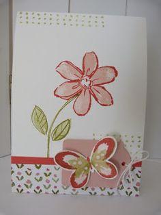 StampinClubNederland : Watercolor, Garden in Bloom, Watercolor Wings, Stampin' Up!, English Garden DSP