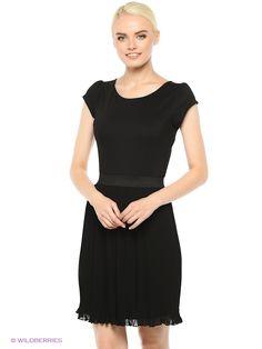 Платье Motivi. Цвет черный.