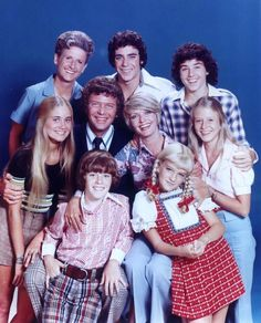THE BRADY BUNCH - The misadventures of a large family united when two widowed people married.