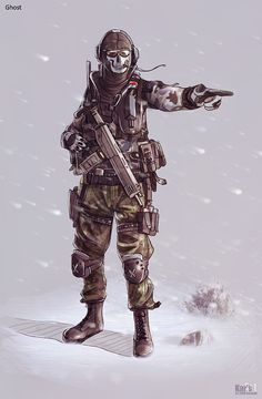 Ghost - Call of Duty - KaranaK.deviantart.com