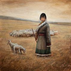 Image result for chinese shepherdess