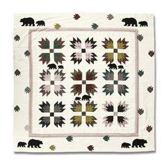 Patch Magic Bear's Paw Shower Curtain - CSBEPW