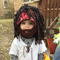 Pirate Wig Boy Halloween Costumes Pirate Headpeice Photo Prop | Etsy Pirate Halloween Costumes, Pirate Hats, Hairline, Great Photos, Photo Props, Little Boys, Snug, Pirates, My Design