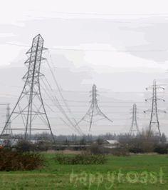 Torres elétricas felizes :) LOL