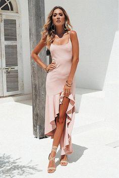 Pink Slip Tail Dress – Jassie Line Sexy Dresses, Evening Dresses, Casual Dresses, Shift Dresses, Midi Dresses, Linen Dresses, Club Dresses, Bridesmaid Dresses, Prom Dresses