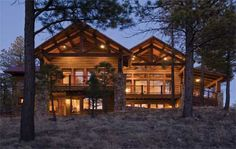 Timber Frame House Plan of Town & Country Cedar Homes Elevation - Maybe?  Flip it?