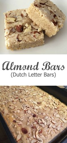 Dutch Letter Bars are all the goodness of a traditional Dutch Letter without all the work. If you love almond desserts these Almond Bars are ones you'll make over and over again!