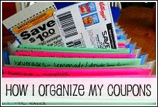 Great tips and websites on coupons. i use the binder method but am always looking for easier ways.