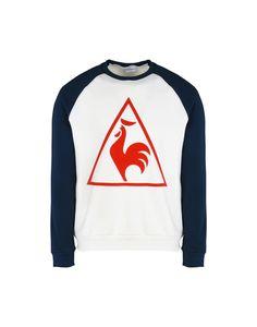 3cce788d78e8b Le Coq Sportif Tri Lf Tennis Crew Sweat M  D - Men Sports T-Shirt on YOOX.  The best online selection of Sports T-Shirts Le Coq Sportif.