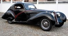 1936 Delahaye 135 S Court Competition Teardrop Coupe