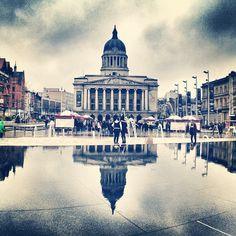 Old Market Square in Nottingham, Nottingham