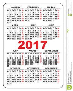 CALENDARS 2017  Pocket Calendars