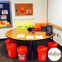 Construction Theme Classroom Decor - Great for any grade level for classroom decor and bulletin boards.