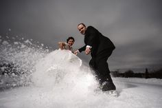 Wedding portrait of an icehockey couple by Jere Satamo on 500px