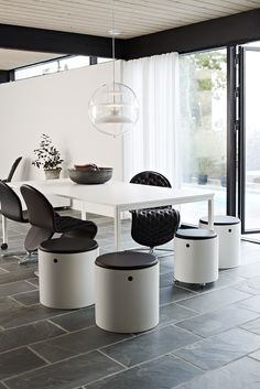 Verpan interiors Panto Globe System 123 Chairs  Barboys