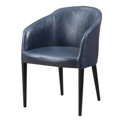 Maude Club Chair Blue 235