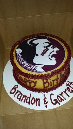 46 Best Florida State Cakes Images In 2017 Cake Cupcake Cakes