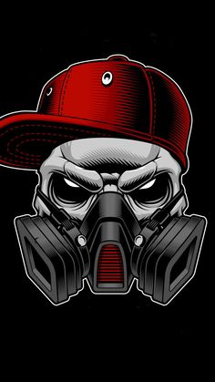 Gas Mask Art, Masks Art, Gas Mask Drawing, Graffiti Wallpaper, Skull Wallpaper, Graffiti Drawing, Graffiti Art, Arte Do Hip Hop, Skull Stencil