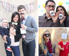 """mustache themed first bday party """"Little Man"""" --- ha!!  How about for a 15-year old?"""