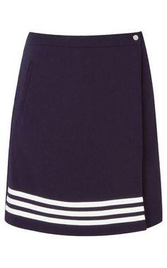 Saia envelope Isabela - marinho Moda Peru, Dress Skirt, Dress Up, Work Skirts, Formal Looks, Couture, Cheer Skirts, Beautiful Dresses, Fashion Dresses
