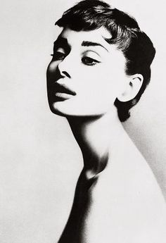 Audrey Hepburn, actor, New York, December 18, 1953 by Avedon
