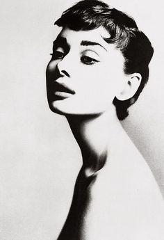 Audrey Hepburn, actor, New York, December 18, 1953 by Avedon