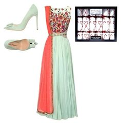 """""""Diwali"""" by vinithavallabh ❤ liked on Polyvore featuring Marco Barbabella"""