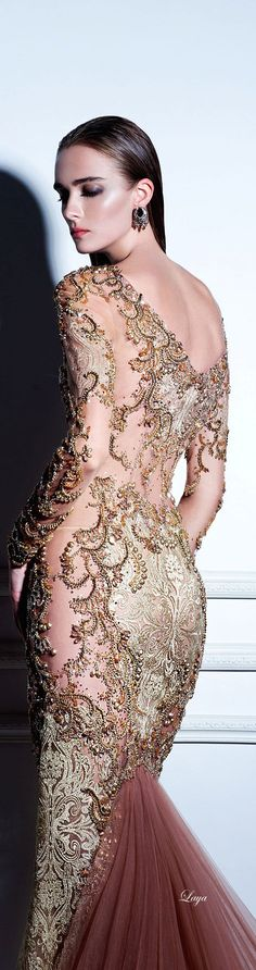 """DANY TABET Couture """"Night in Moscow"""",F/W 2014-15"""