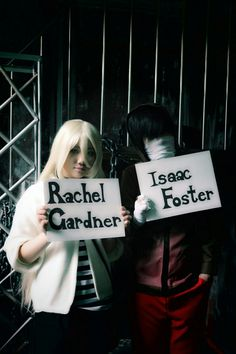 Angel of slaughter cosplay Zack and Ray