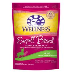 Wellness® Complete Health Small Breed Adult Dog Food - Natural | Dry Food | PetSmart
