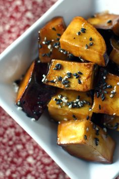 Recipe: Daigaku Imo(大学芋) Honey Glazed Sweet Potatoes, Traditional and a very Popular Snack in Japan