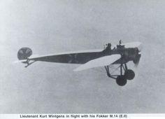1914 - 1918 The Great War Fokker E-1